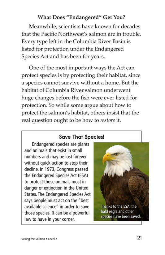 Book Preview For Saving the Salmon Page 21