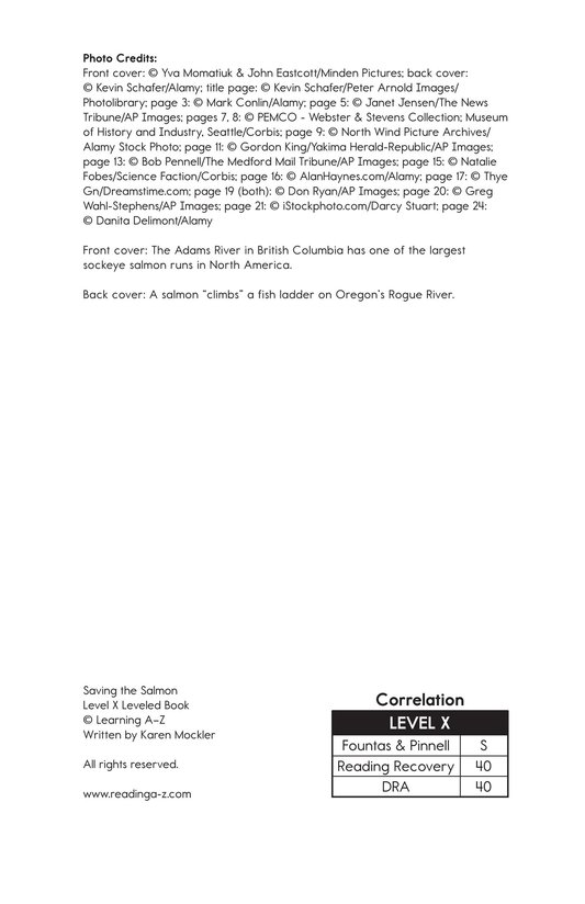 Book Preview For Saving the Salmon Page 25