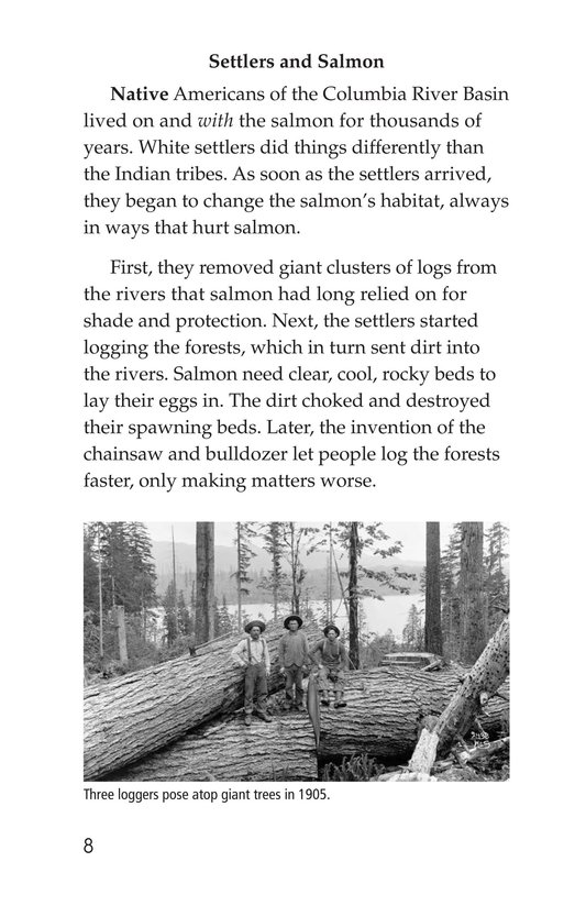 Book Preview For Saving the Salmon Page 8