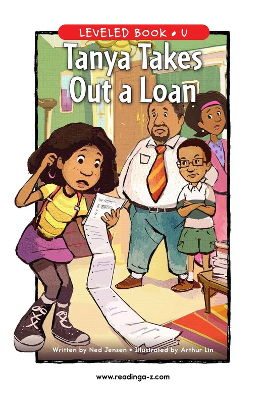 Book Preview For Tanya's Money Problem Page 1