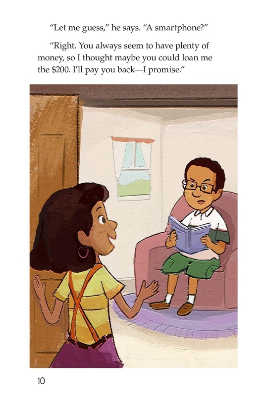 Book Preview For Tanya's Money Problem Page 10