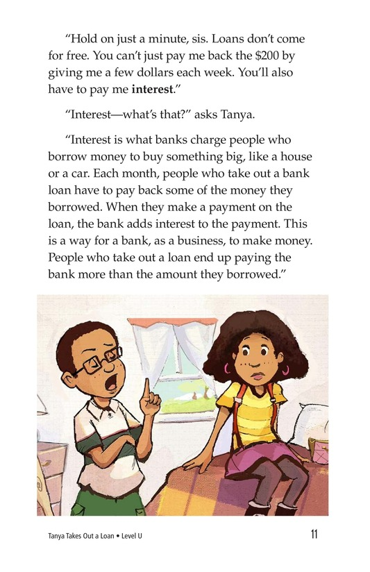Book Preview For Tanya's Money Problem Page 11