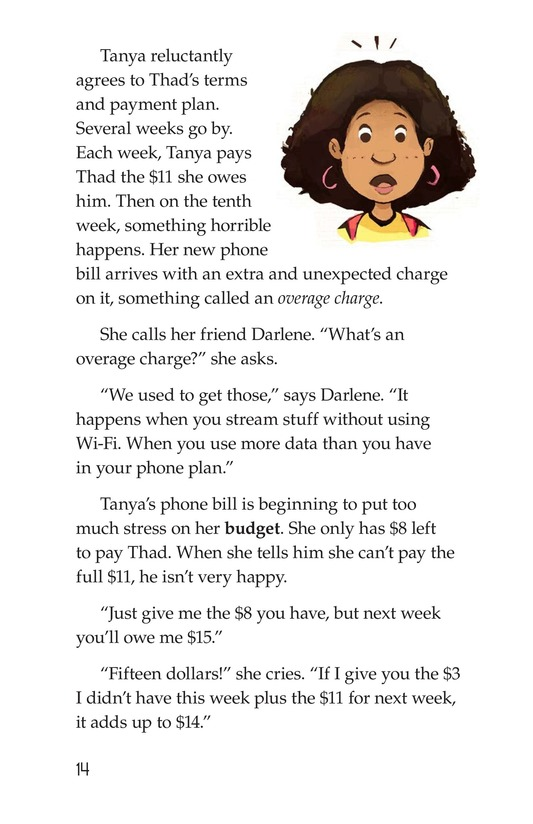 Book Preview For Tanya's Money Problem Page 14
