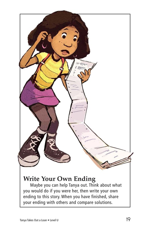 Book Preview For Tanya's Money Problem Page 19