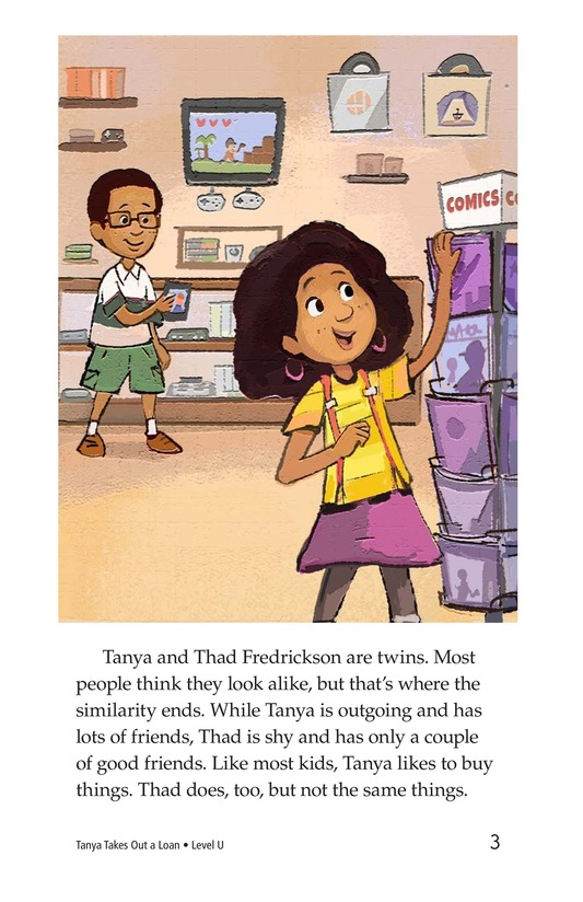Book Preview For Tanya's Money Problem Page 3