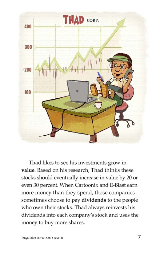 Book Preview For Tanya's Money Problem Page 7