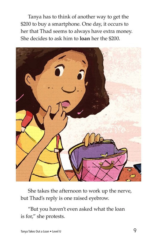 Book Preview For Tanya's Money Problem Page 9