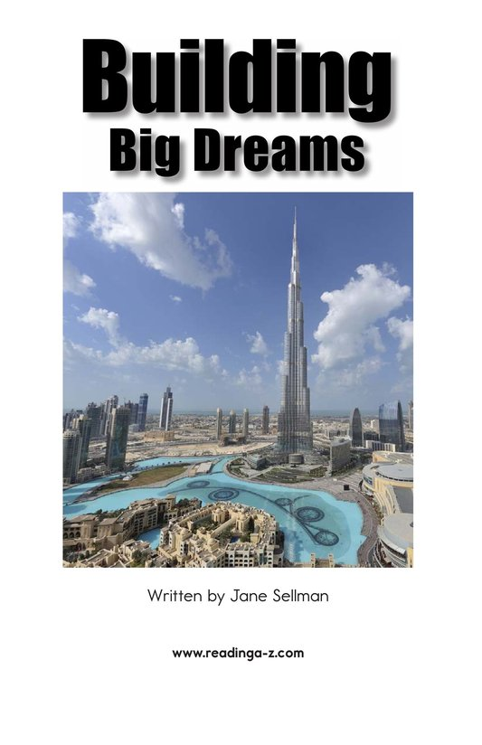 Book Preview For Building Big Dreams Page 2