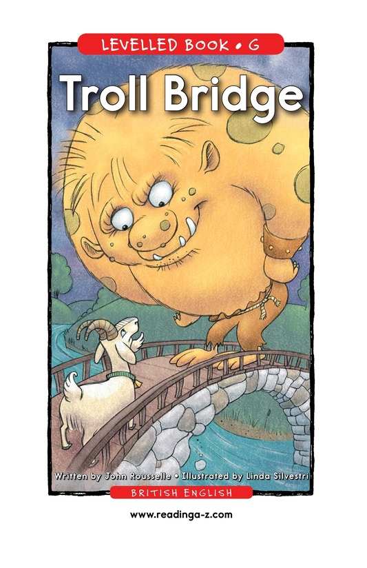 Book Preview For Troll Bridge Page 1