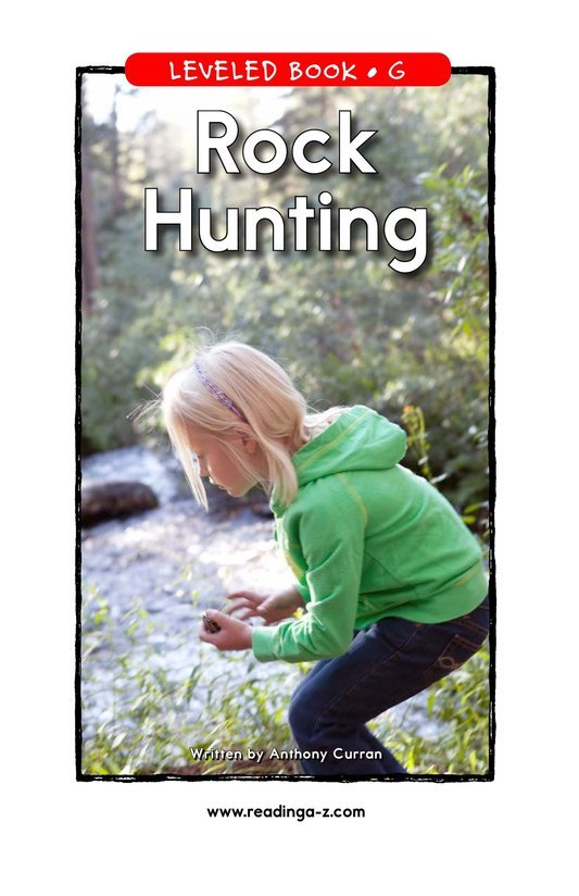 Book Preview For Rock Hunting Page 1