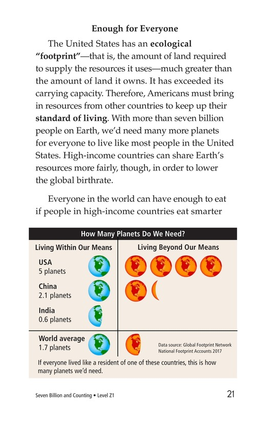 Book Preview For Seven Billion and Counting Page 21