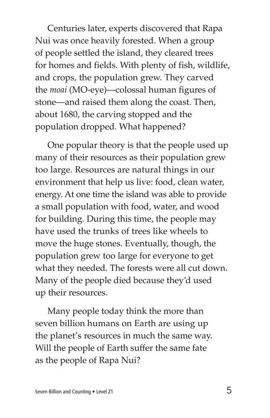 Book Preview For Seven Billion and Counting Page 5