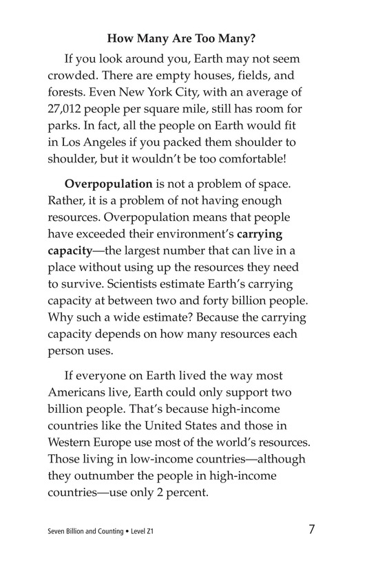 Book Preview For Seven Billion and Counting Page 7