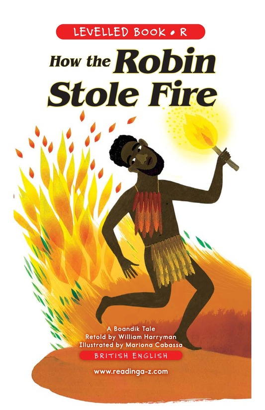 Book Preview For How the Robin Stole Fire Page 1