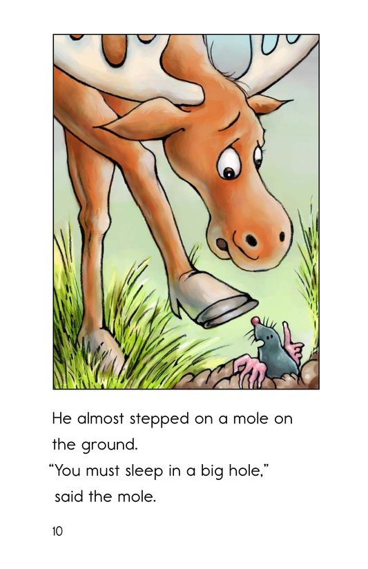 Book Preview For Moose on the Move Page 10