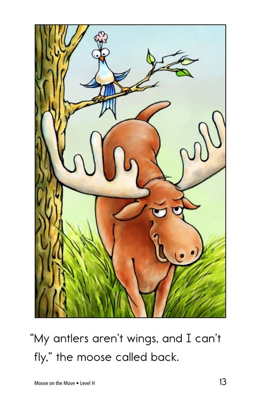 Book Preview For Moose on the Move Page 13