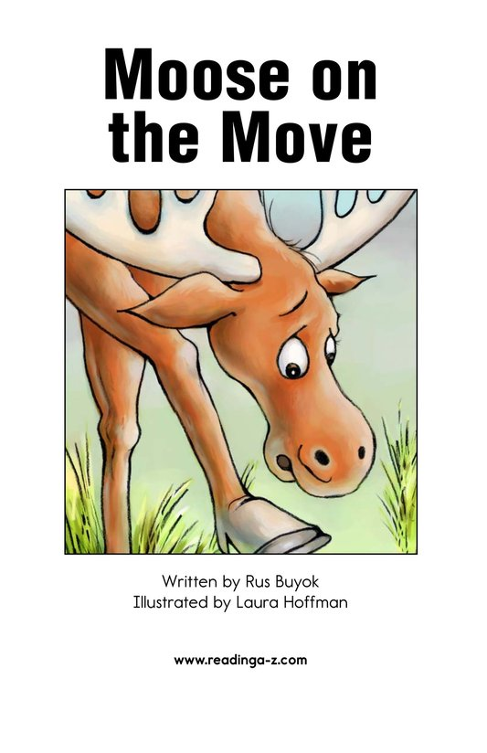 Book Preview For Moose on the Move Page 2