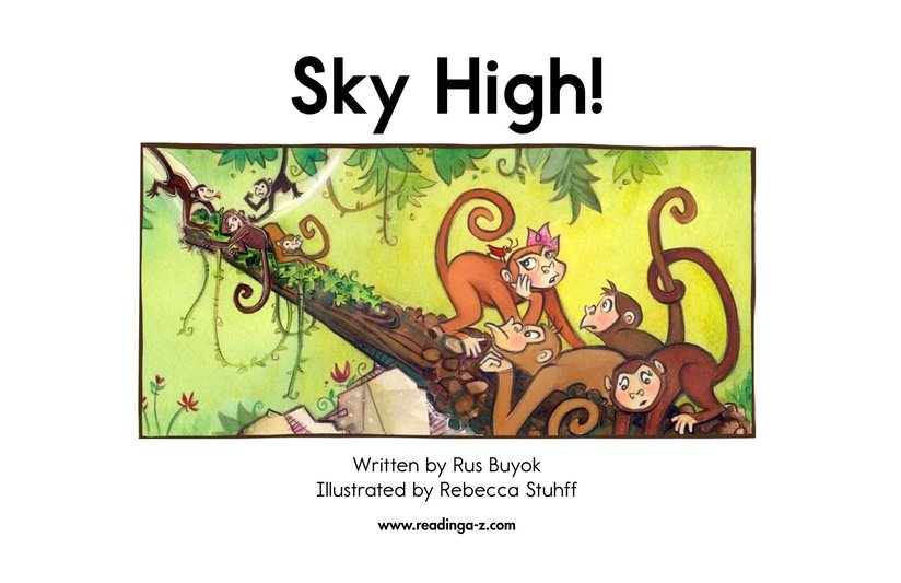 Book Preview For Sky High! Page 2
