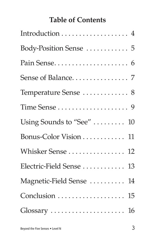 Book Preview For Beyond the Five Senses Page 3