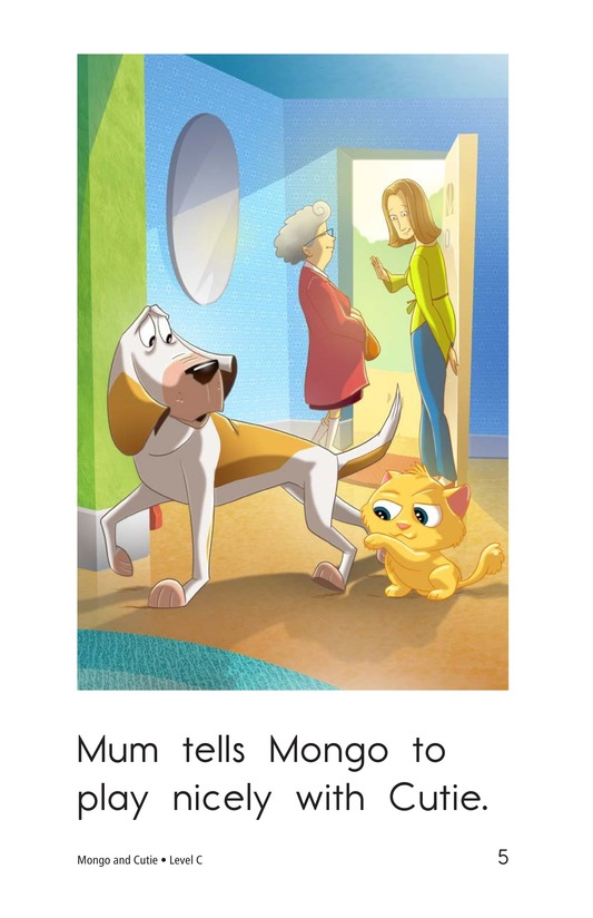 Book Preview For Mongo and Cutie Page 5