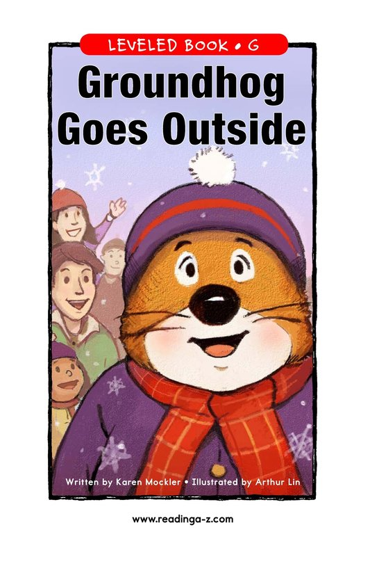 Book Preview For Groundhog Goes Outside Page 1