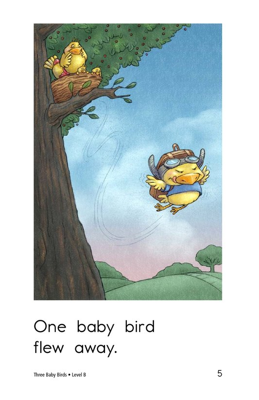Book Preview For Three Baby Birds Page 5
