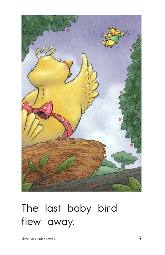 Book Preview For Three Baby Birds Page 9
