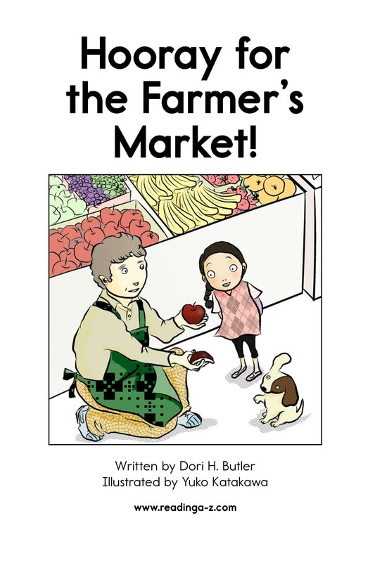 Book Preview For Hooray for the Farmer's Market! Page 2
