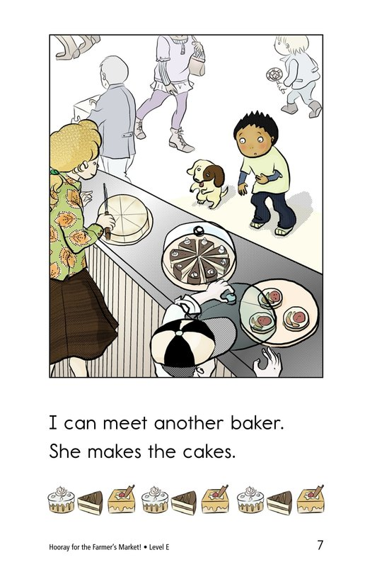 Book Preview For Hooray for the Farmer's Market! Page 7