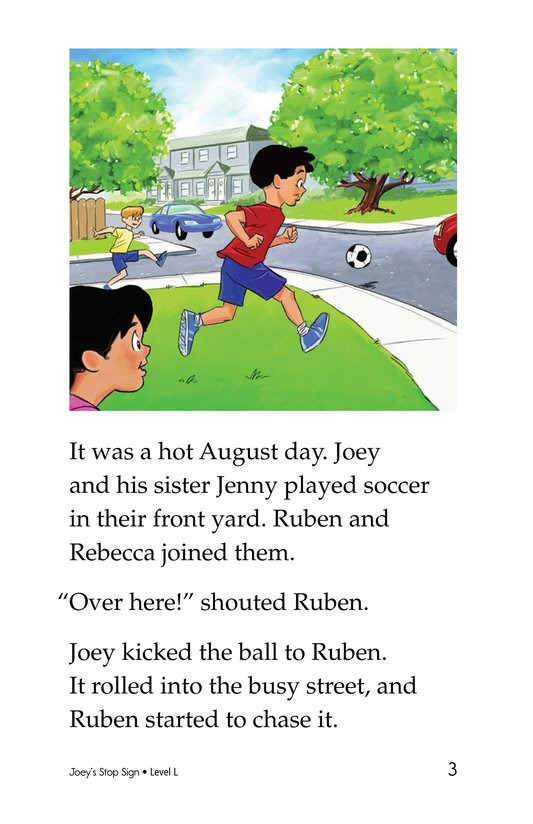 Book Preview For Joey's Stop Sign Page 3