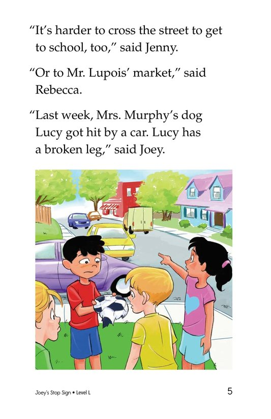 Book Preview For Joey's Stop Sign Page 5