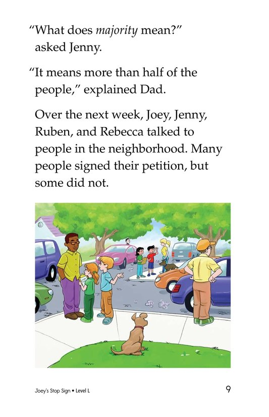Book Preview For Joey's Stop Sign Page 9