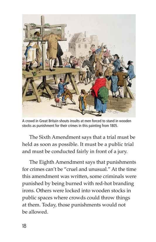 Book Preview For The Bill of Rights Page 18
