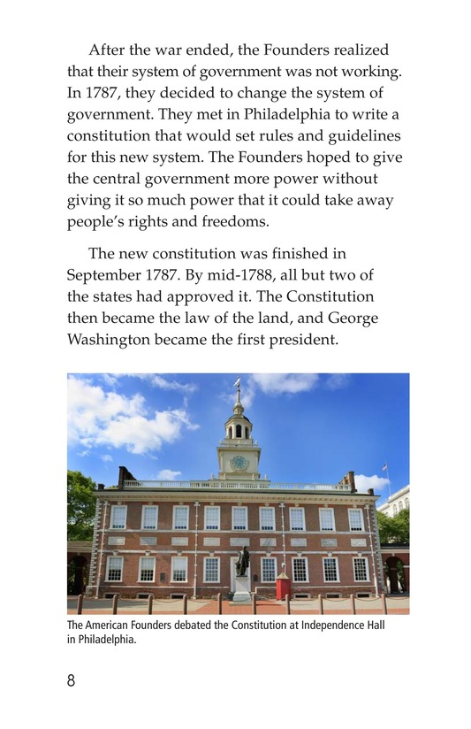 Book Preview For The Bill of Rights Page 8