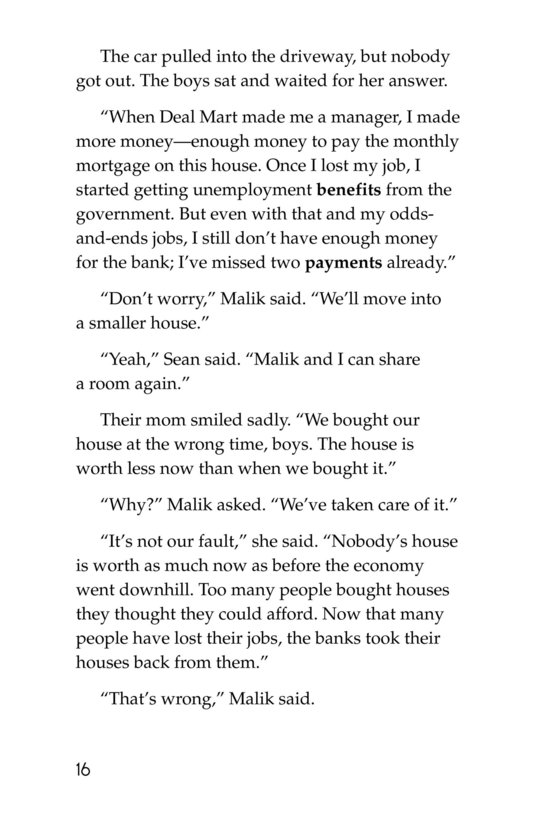 Book Preview For Malik Had a House Page 16