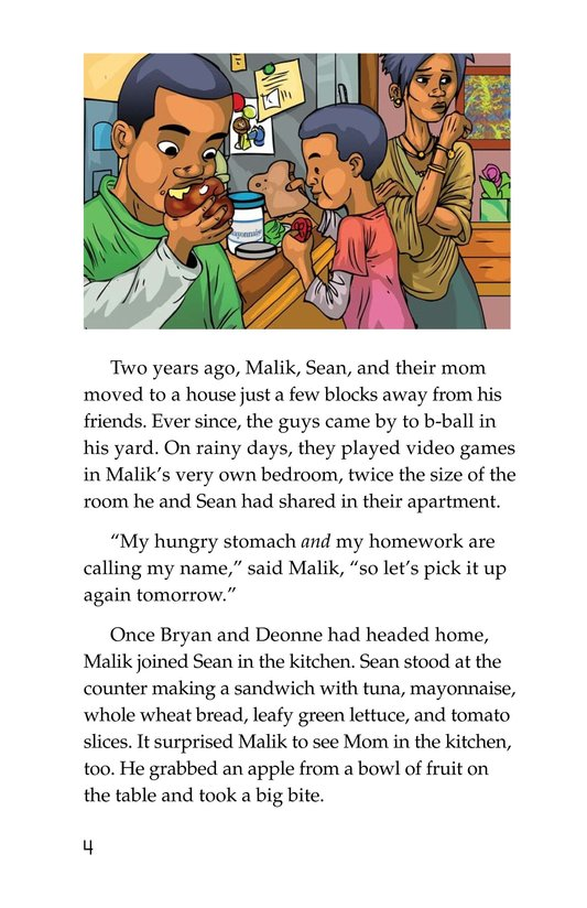 Book Preview For Malik Had a House Page 4