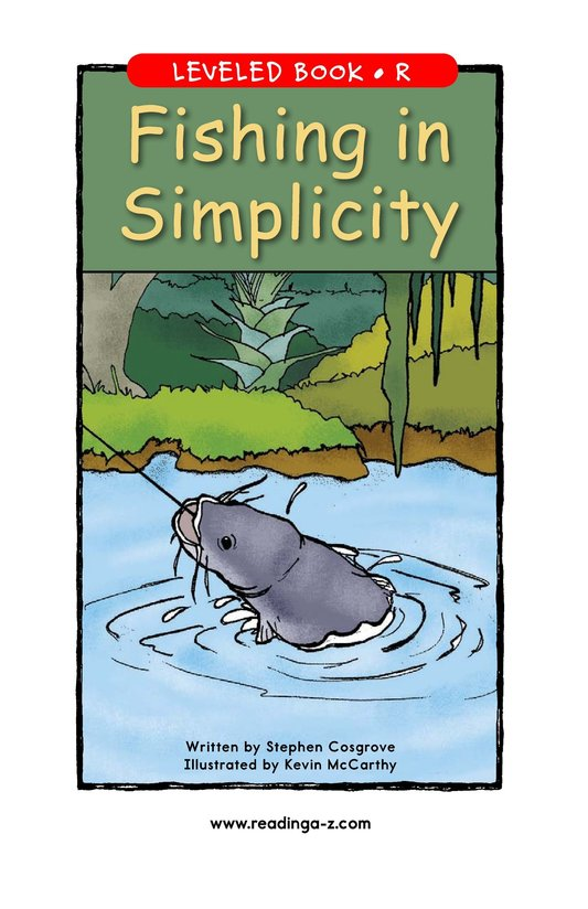 Book Preview For Fishing in Simplicity Page 1