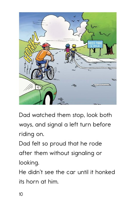 Book Preview For Safe Biking with Dad Page 10