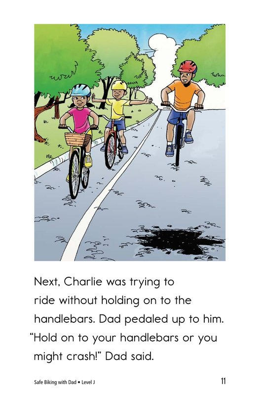 Book Preview For Safe Biking with Dad Page 11