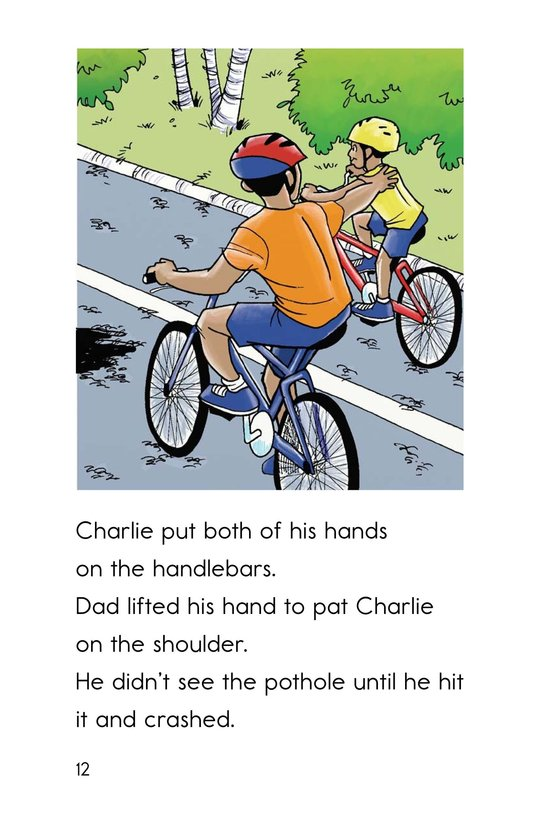 Book Preview For Safe Biking with Dad Page 12