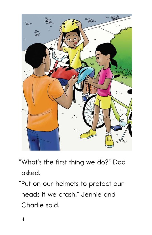 Book Preview For Safe Biking with Dad Page 4