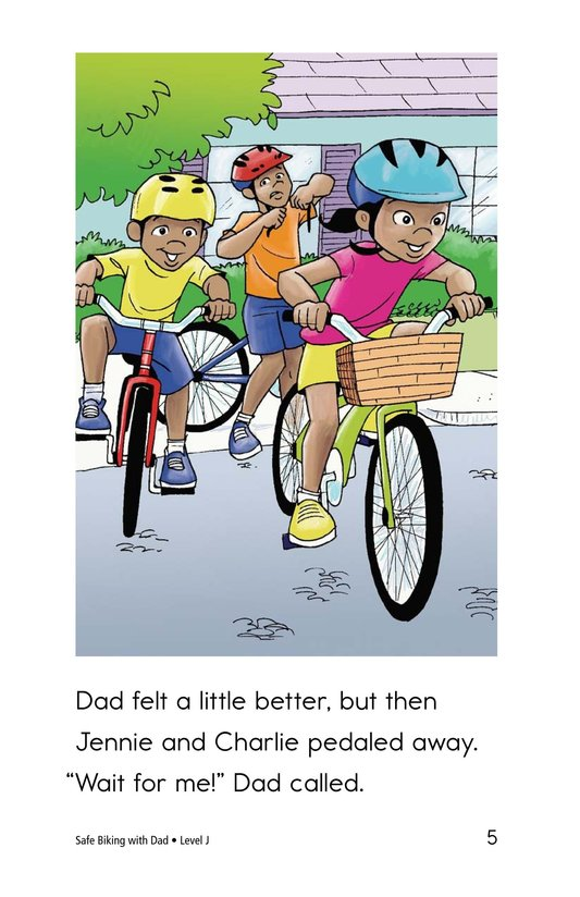 Book Preview For Safe Biking with Dad Page 5