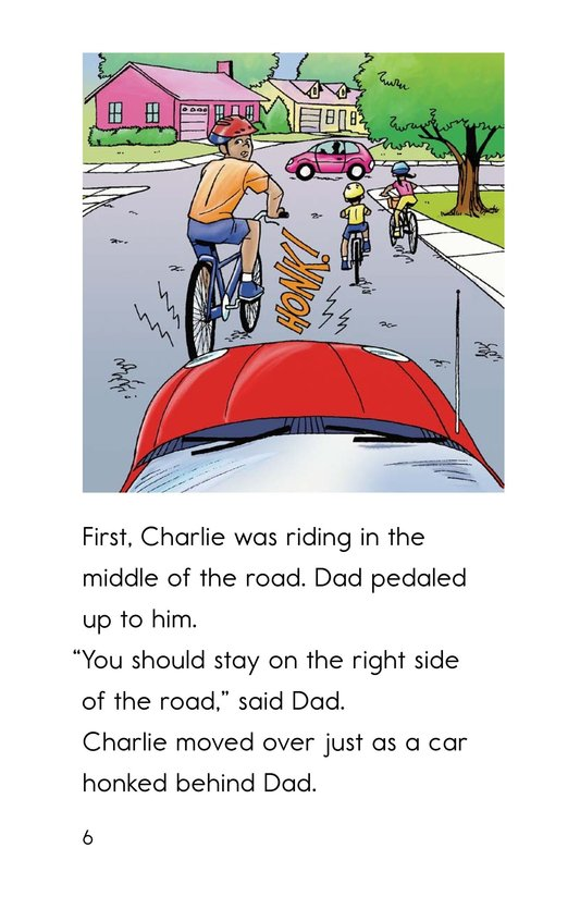 Book Preview For Safe Biking with Dad Page 6