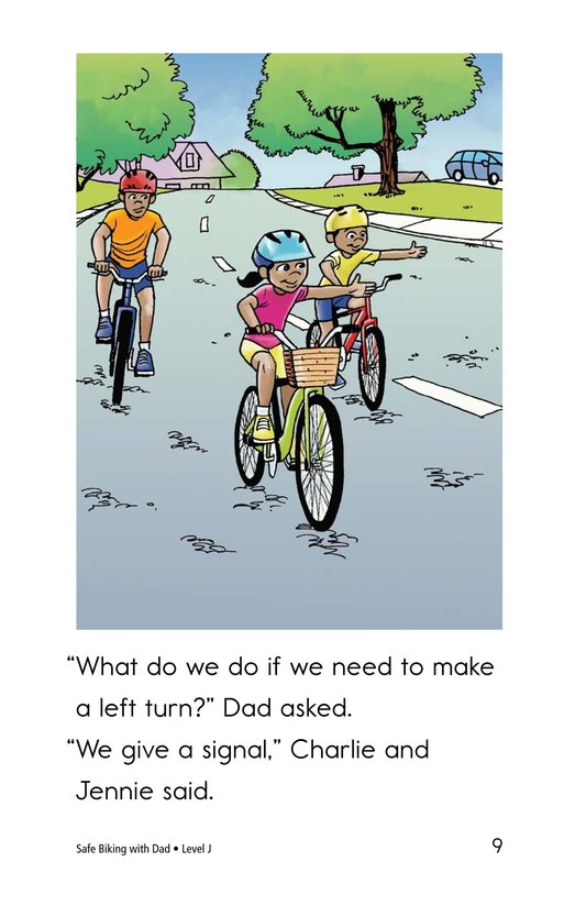 Book Preview For Safe Biking with Dad Page 9