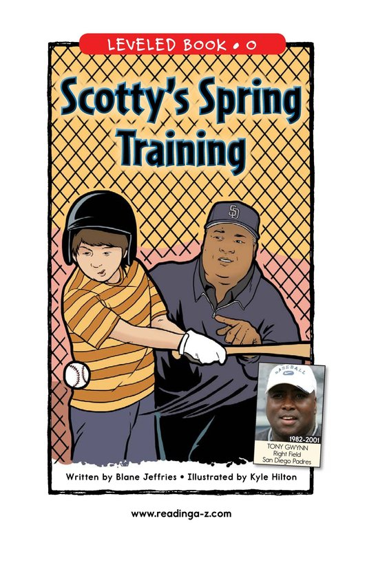 Book Preview For Scotty's Spring Training Page 1