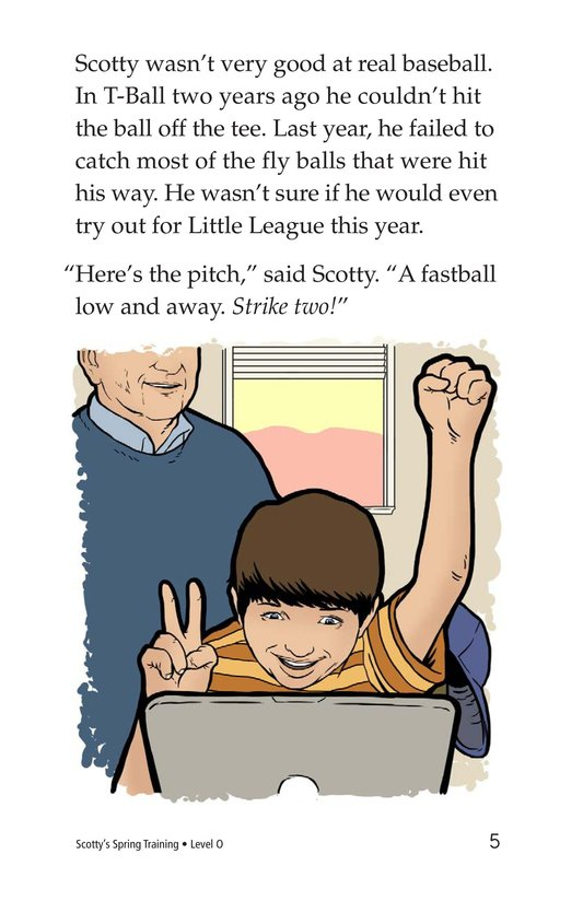 Book Preview For Scotty's Spring Training Page 5