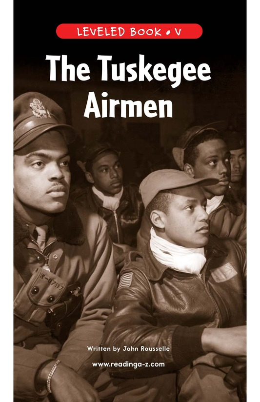Book Preview For The Tuskegee Airmen Page 1