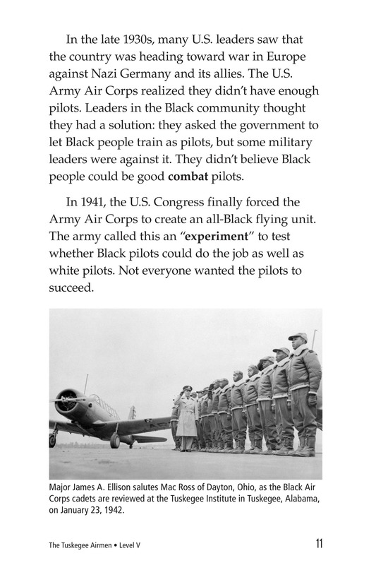 Book Preview For The Tuskegee Airmen Page 11
