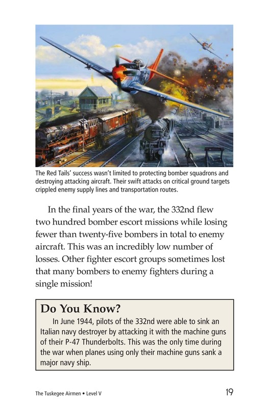 Book Preview For The Tuskegee Airmen Page 19