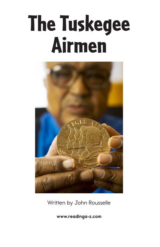 Book Preview For The Tuskegee Airmen Page 2